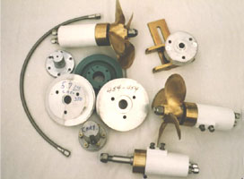 Picture - Thruster Components